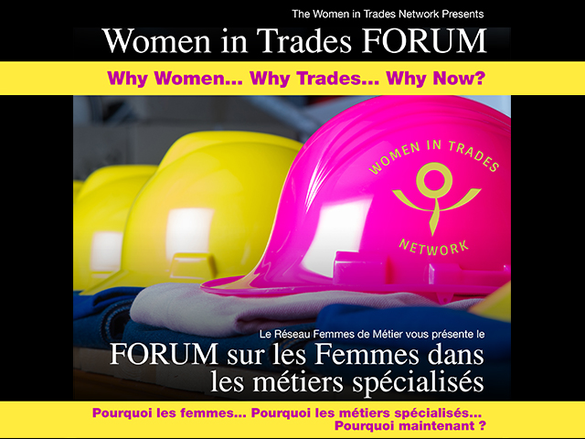 Provincial Women in Trades Forum 2014