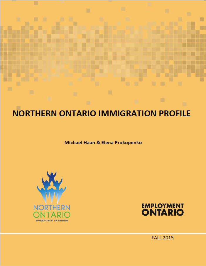 Northern Ontario Immigration Profile 2015