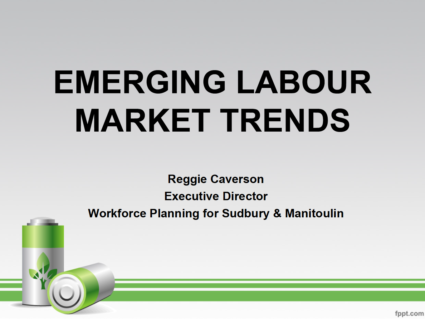Green X2 – Labour Market Trends 2013