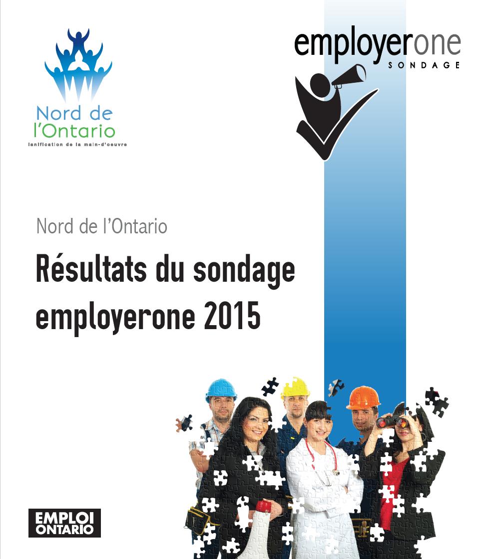 Résultats du sondage employerone 2015 pour le Nord de l'Ontario