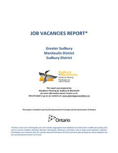Job Vacancies Report