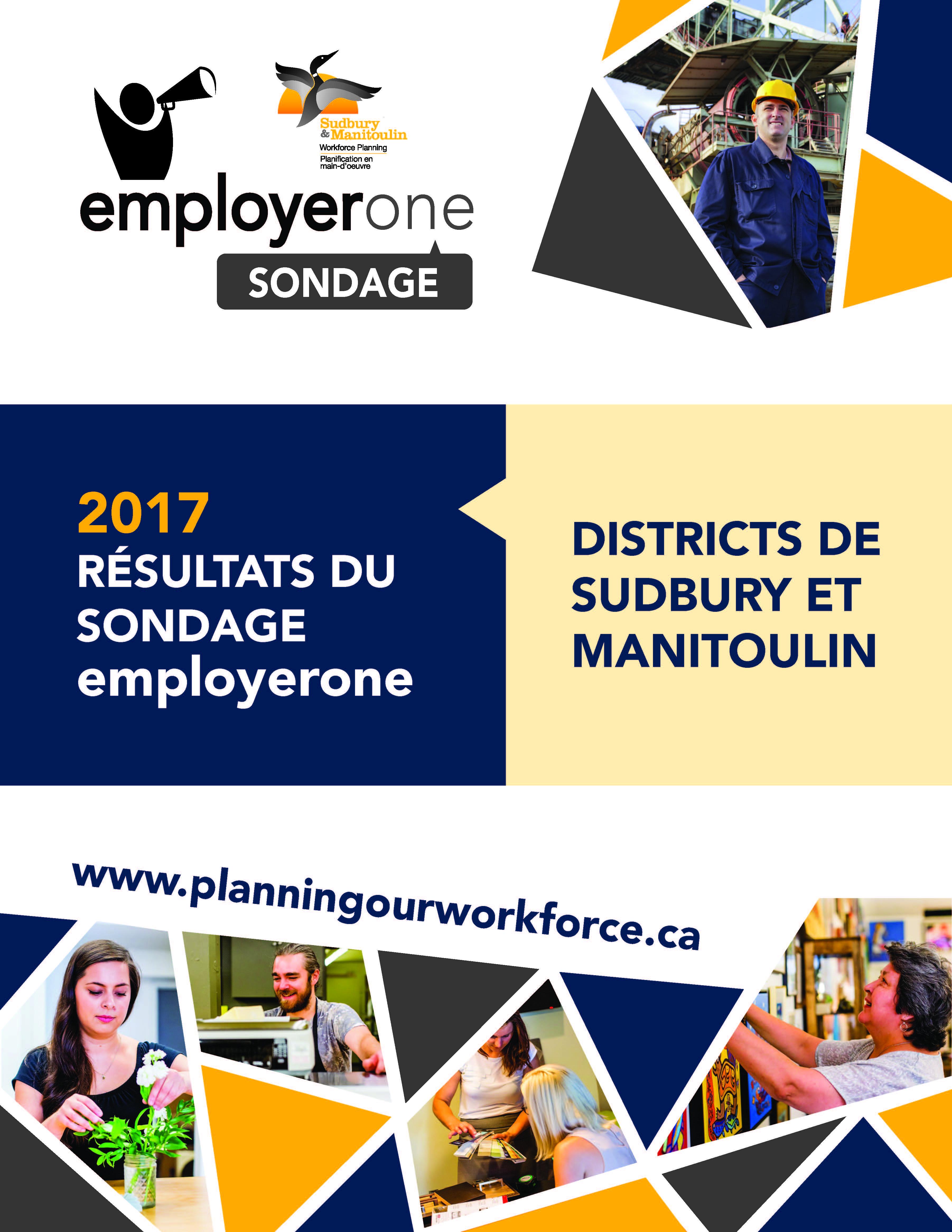 Résultats du sondage employerone de 2016