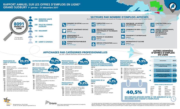 Rapport annuel sur les offres d'emplois en ligne